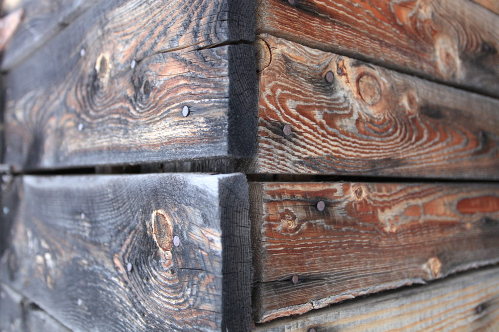 Beautifully greyed barn wood
